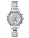 GUESS hodinky Roxy Silver-tone Multifunction Watch U1071L1