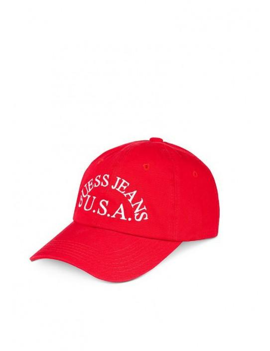 GUESS čiapka červená