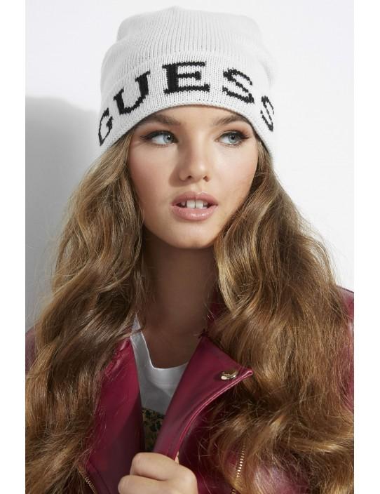 GUESS čiapka Varsity Logo Beanie