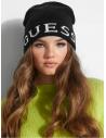 GUESS čiapka Varsity Logo Beanie čierna