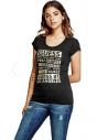 GUESS tričko Macie Glitter Logo tee čierne