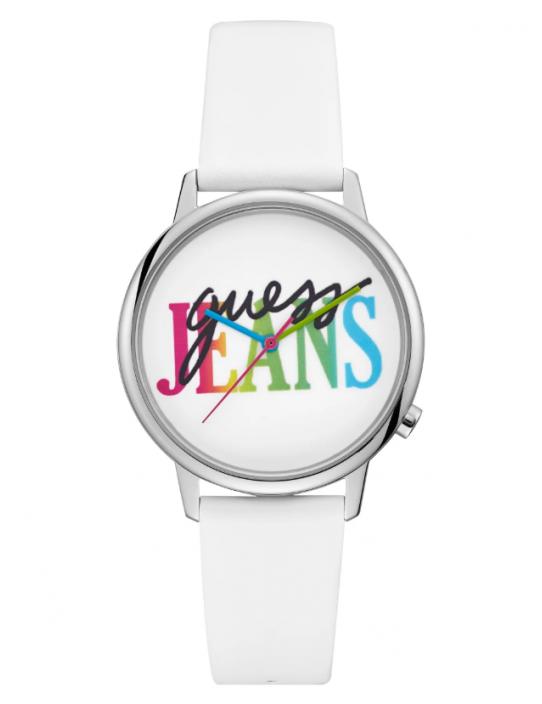 GUESS hodinky Originals Silver-tone...
