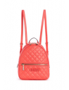 GUESS batoh Elliana Quilted Mini Backpack coral