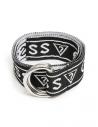 GUESS opasok Logo Woven Belt čierny