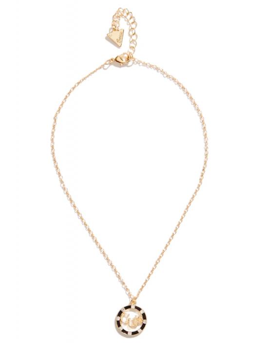 GUESS náhrdelník Gold-tone Mosaic...