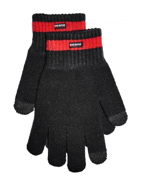 GUESS rukavice Touchscreen Logo...