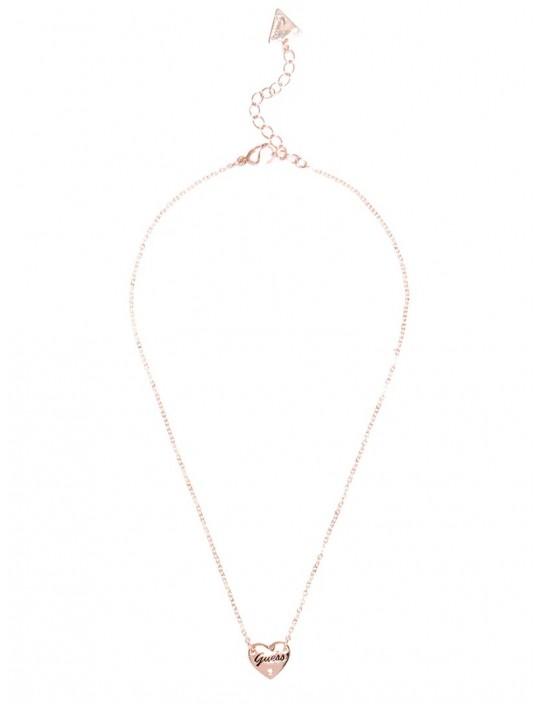 GUESS náhrdelník Rose Gold-Tone...
