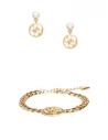 GUESS náramek a náušnice Logo Bracelet and Earrings Set