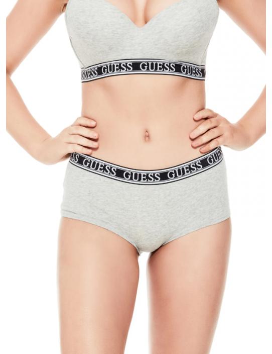 GUESS nohavičky Logo Band Brief sivé