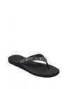 GUESS žabky Tajah Rhinestone Flip Flops čierne