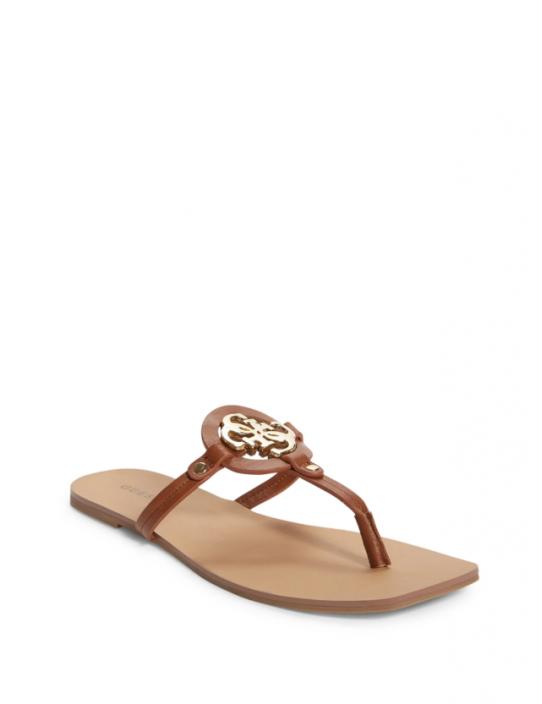 GUESS žabky Zali Logo T-strap Sandals...