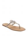 GUESS žabky Zali Logo T-strap Sandals