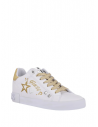 GUESS tenisky Pryde Glitter Logo Sneakers biele