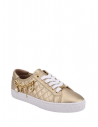 GUESS tenisky Graslin Quilted Charm Sneakers zlaté