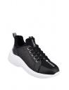 GUESS tenisky Speerit Logo Glitter Sneakers čierne