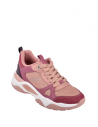 GUESS  tenisky Flaus Color-block Chunky Sneakers pink