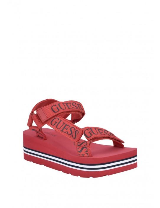 GUESS sandále Avin Platform Sport...