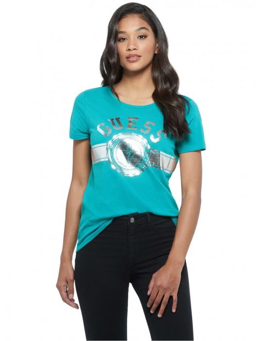 GUESS tričko Tammy Logo Crewneck Tee...