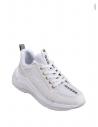 GUESS tenisky Speerit Logo Glitter Sneakers biele