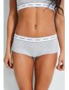 GUESS nohavičky Logo-Trim Briefs sivé