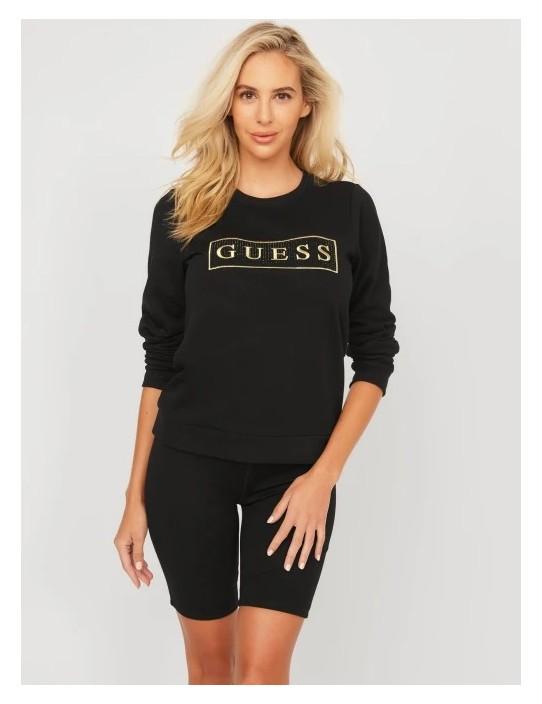 GUESS pulóver Candance Logo Pullover...