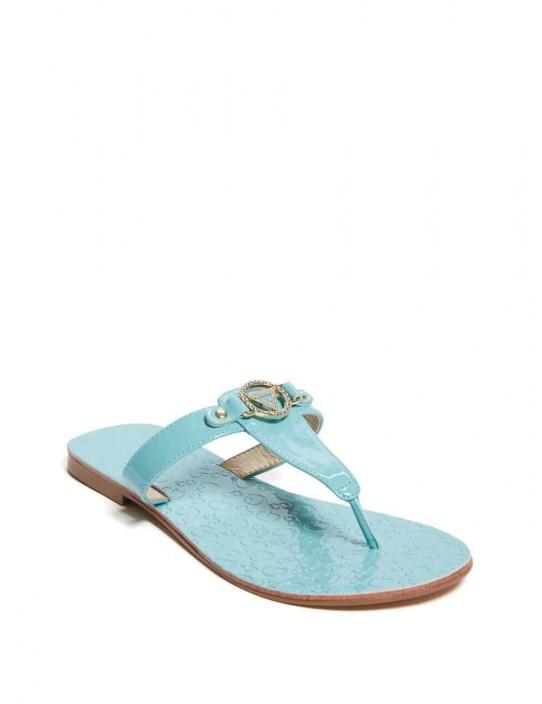 GUESS žabky Kara T-Strap Sandals...