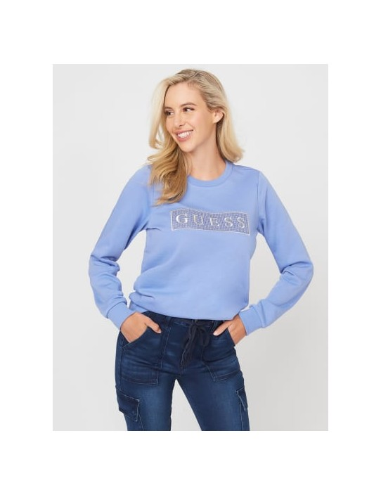 GUESS mikina Candance Logo Pullover...