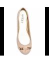 GUESS balerínky Genna Logo Flats růžové
