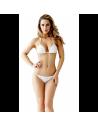 GUESS plavky podprsenka Logo Side-tie Brazilian biela