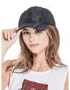 GUESS čiapka Mesh Logo Baseball Hat čierna
