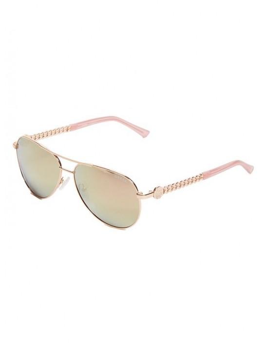 GUESS okuliare Aviator Sunglasses ružové