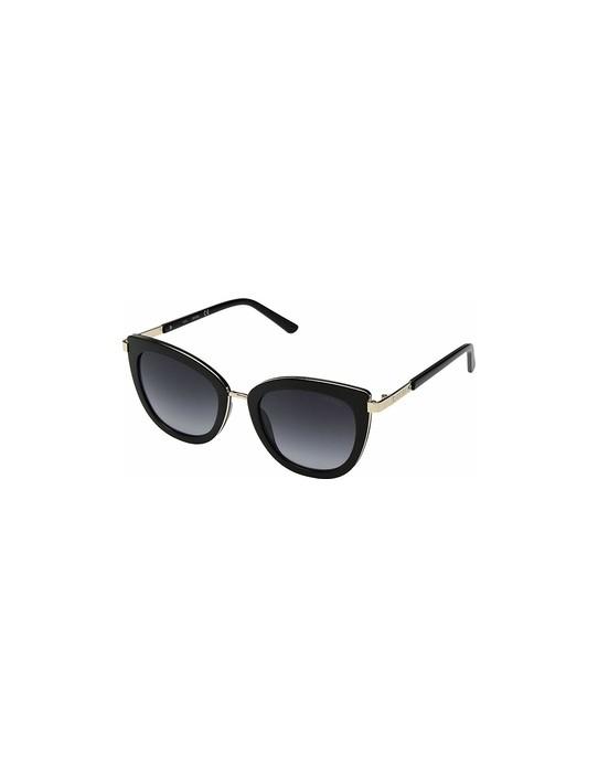 GUESS okuliare Cat Eye Sunglasses čierne