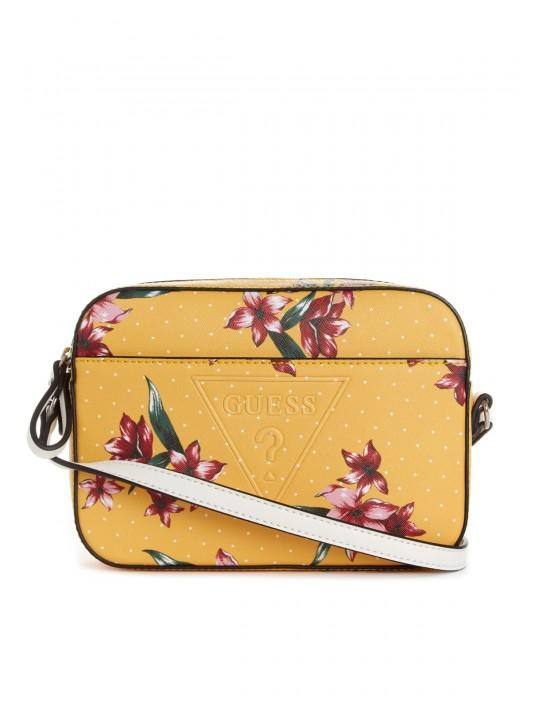 GUESS kabelka Rigden Floral Crossbody...