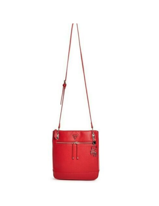 Outlet - GUESS kabelka Carmina červená