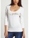Outlet - G by Guess pulóver Lorenzo biely