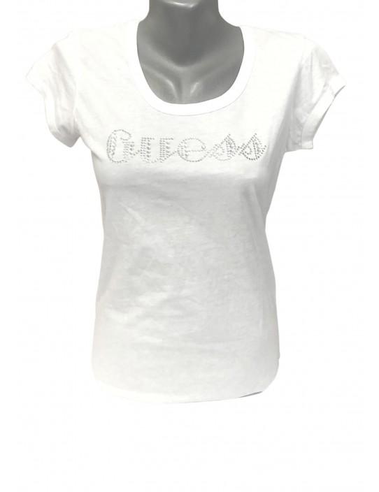 Outlet - GUESS tričko biele