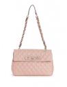 GUESS kabelka Sweet Candy Quilted Shoulder Bag ružová