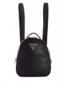 GUESS batoh Delon Faux-leather Convertible Mini Backpack čierny