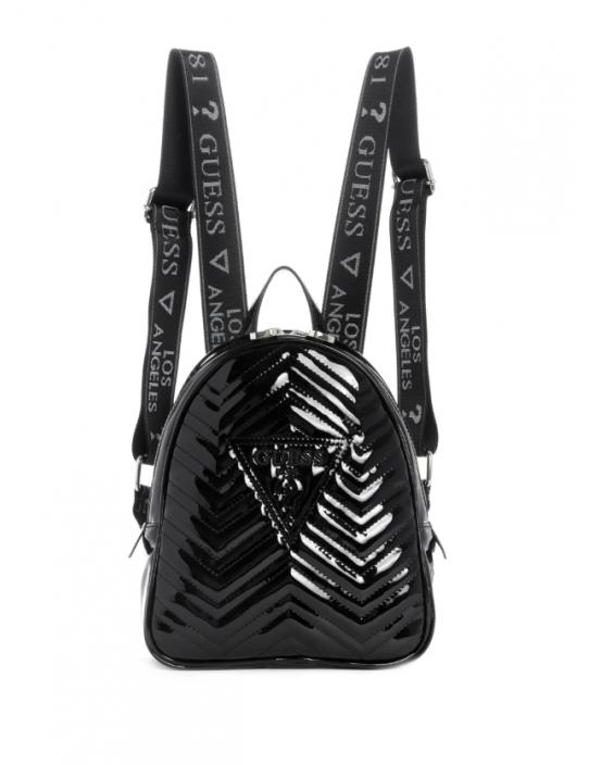 GUESS batoh Zana Mini Backpack čierny