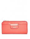 Outlet - GUESS peňaženka Bobbi Slim Wallet red