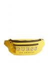 GUESS ľadvinka Originals Logo Belt Bag žltá